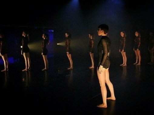 Taken at The Arena Theatre Wolverhampton when Youth dancers performed Voltage as part of Flexus Dance Collective's Next Steps Platform